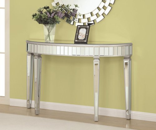 Medium Of Glass Console Table