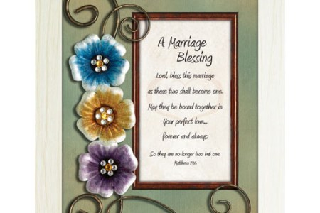 a marriage blessing framed christian tabletop home decor 3
