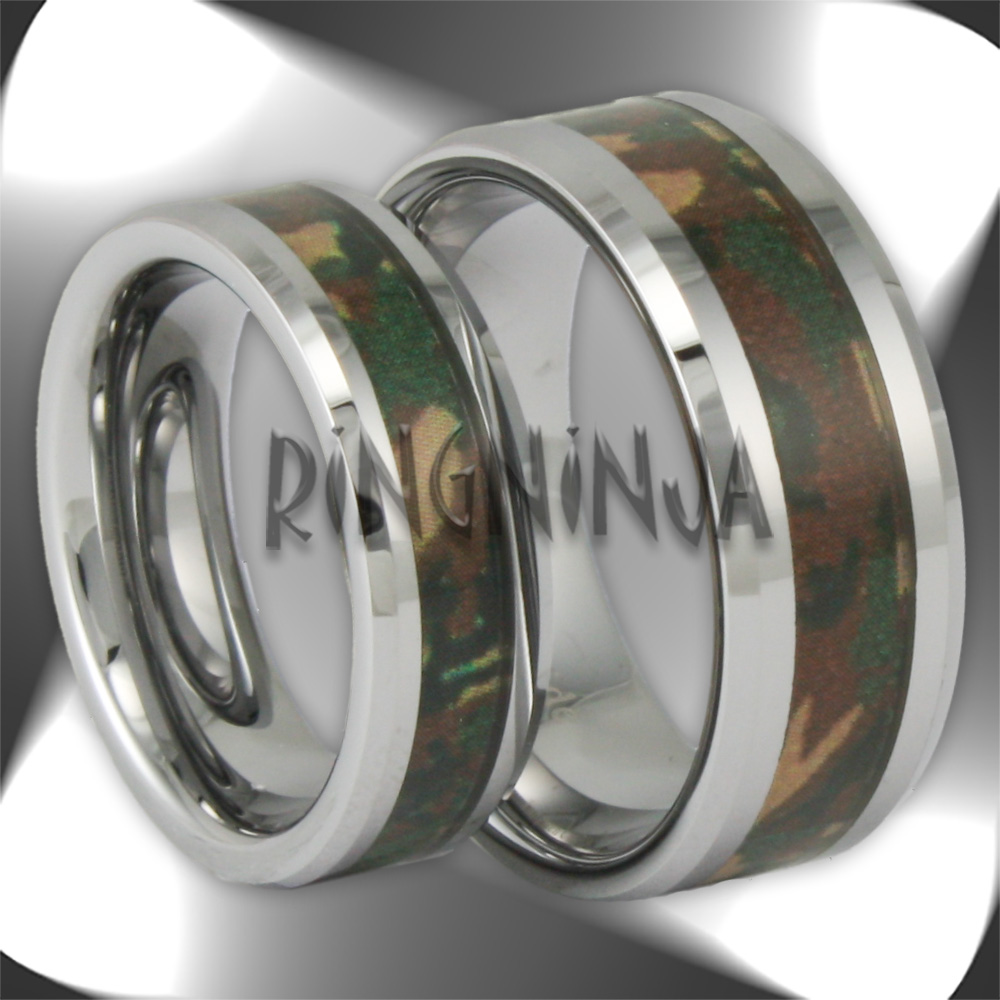 cheap camo wedding rings camouflage wedding ring sets camo wedding rings for her with diamonds Cheap Camo
