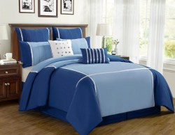 Small Of Navy Blue Comforter