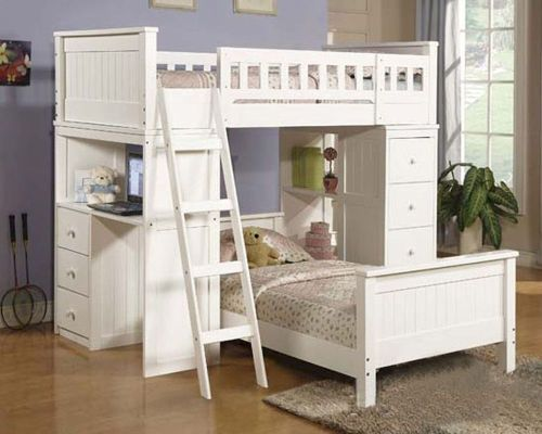 Snazzy Willoughby Ac10970 8 26 Twin Bed Set Boy Twin Bed Set Furniture Twin Bed Set Acme Furniture Loft