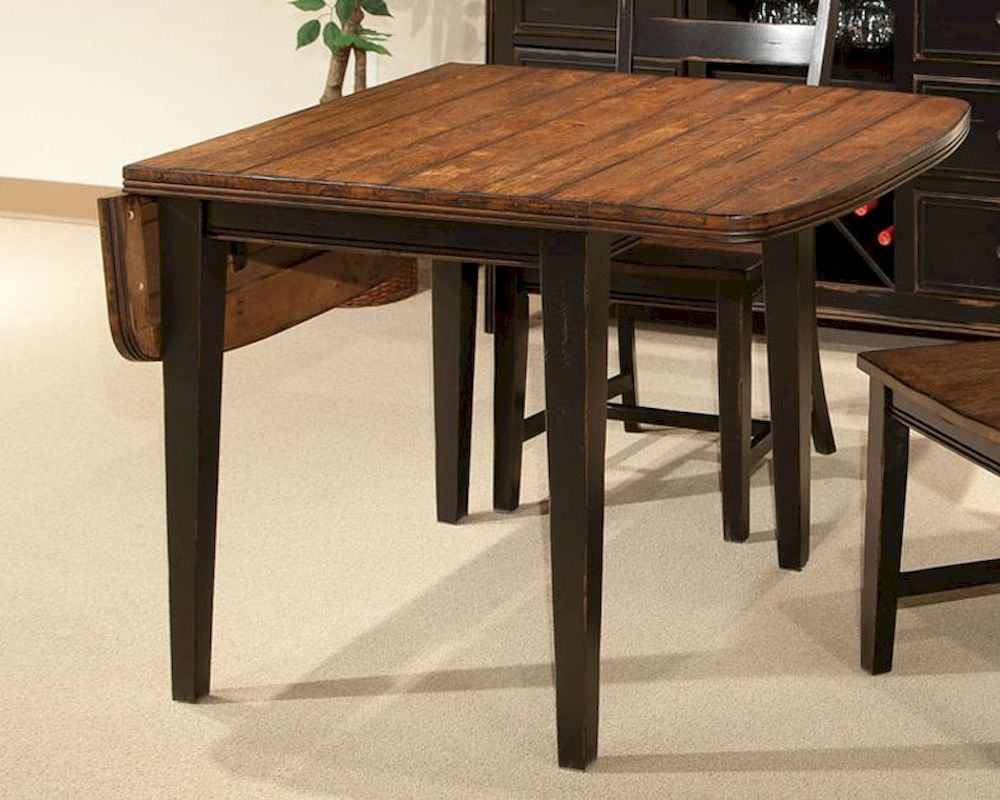 intercon drop leaf dining table winchester in wn ta 3650d bhn c 23