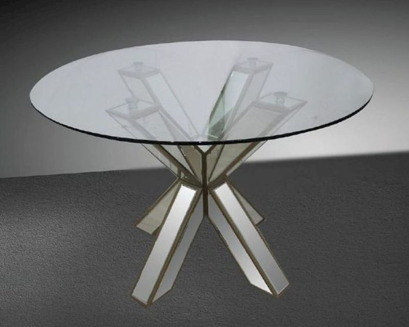 Large Of Round Glass Dining Table