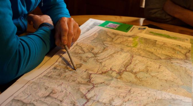 Gletscherkurs Teil 2 – Karte und Kompass mit Klettereinlagen
