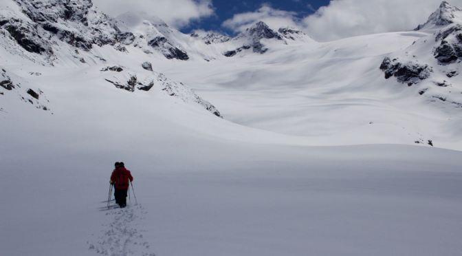 Gletscherkurs Teil 1 – Silvrettahütte und Spaltenbergung auf dem Gletscher