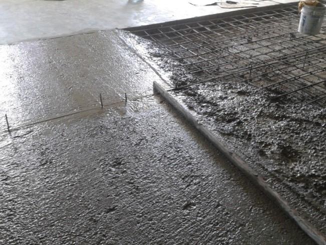 construccion de losa de piso en bodegas