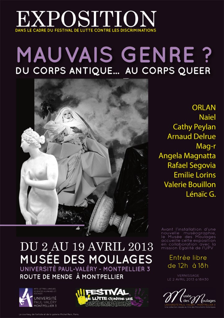 Mauvais genre ? Du corps antique… au corps queer