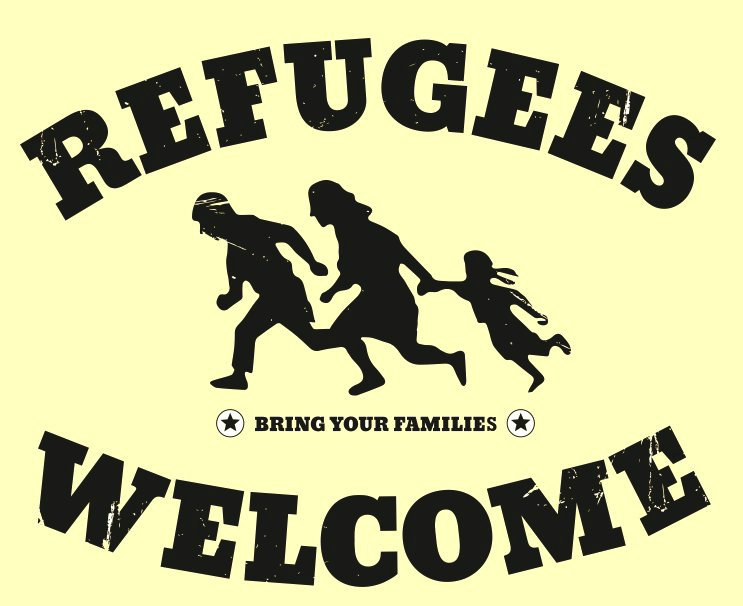 welcome refugies
