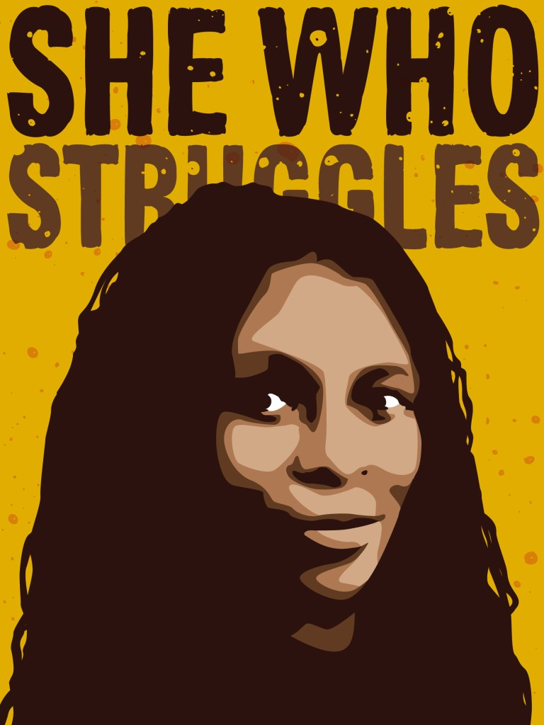 She who struggles