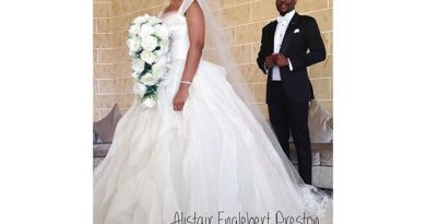 Photos From Ebuka Obi-Uchendu & Cynthia Obianodo's White Wedding in Abuja