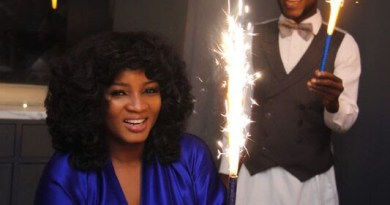 Photos From Omotola Jalade's Surprise Birthday Dinner In Ghana With Joselyn Dumas, Becca & More