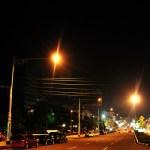 Di jalan pahlawan suatu malam
