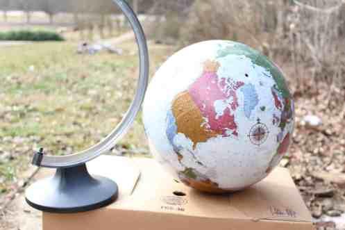 outdisde globe