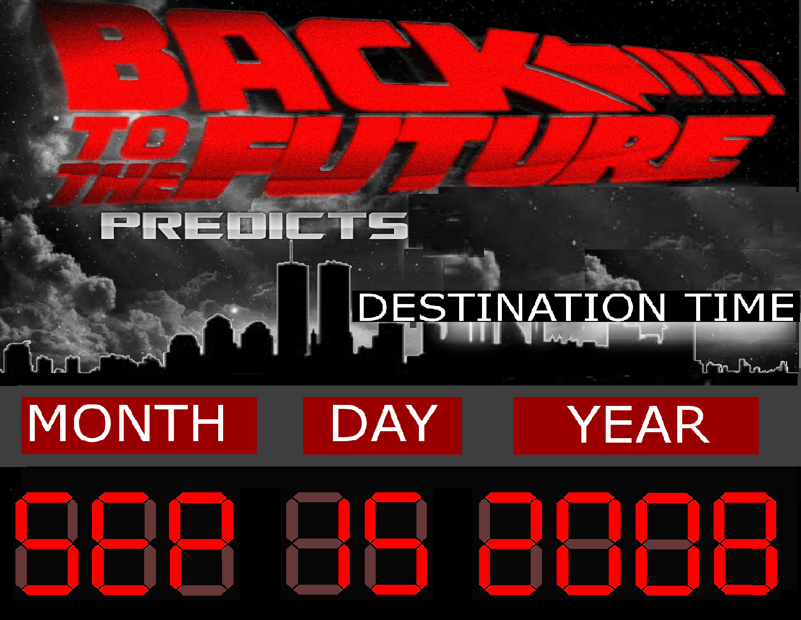 Wait! Is it 2016 or 2008? Quick!…Dial back the DeLorean!