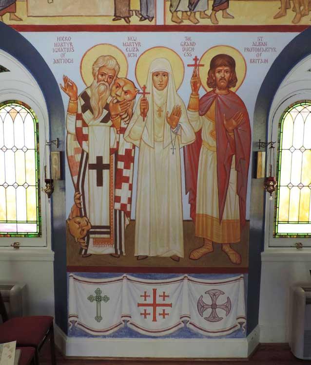 Martyrs Ignatius, Elizabeth, and Alban