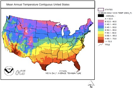 3c maps that describe climate