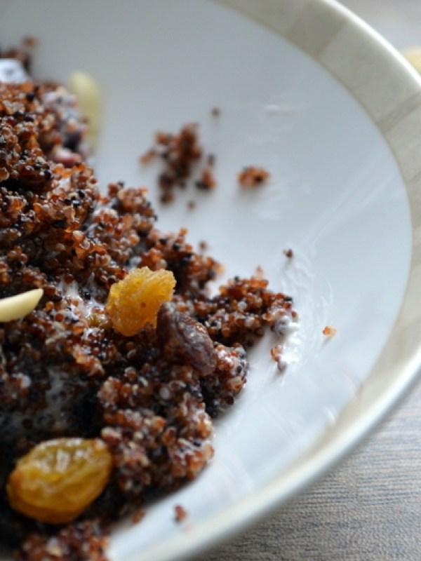 Warm and Nutty Cinnamon Kiwicha with Yogurt, Fruit & Honey – What's ...