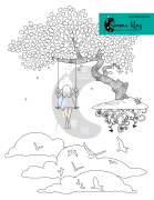 Dreamscape Coloring Page