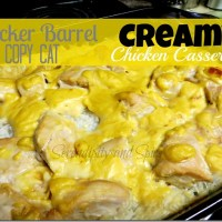 Cracker Barrel Copy Cat Creamy Chicken and Rice Casserole Recipe