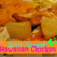 Sweet Pineapple Hawaiian Chicken Recipe