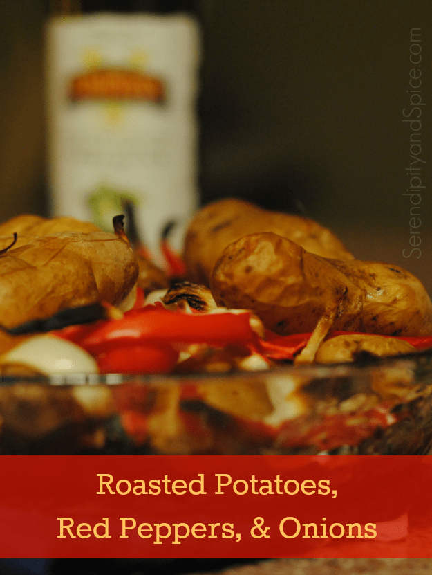 Roasted Potatoes, Onions, and Red Peppers Recipe