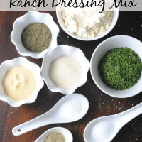 DIY Organic Ranch Dressing Mix Recipe