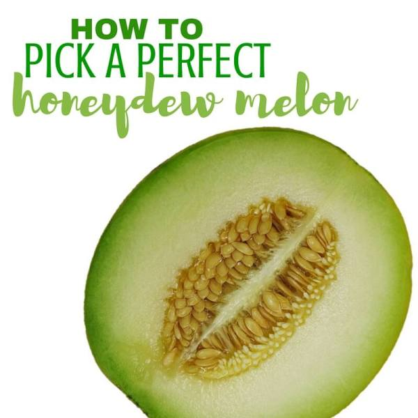 How to Pick a Perfect Honeydew Melon