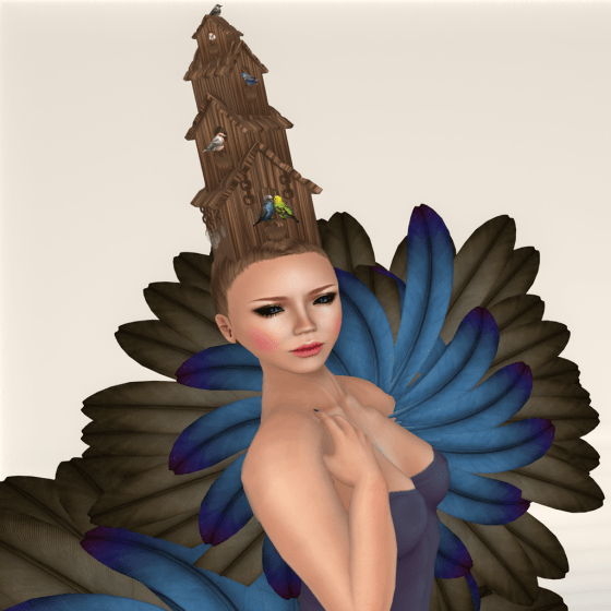 Bizarre Hair Hair Fair- The Birdhouse close up