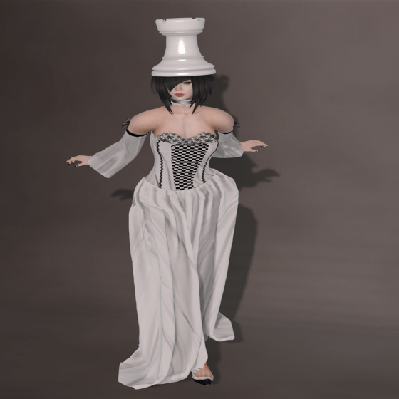 The White Rook Chess Gown, Zanze