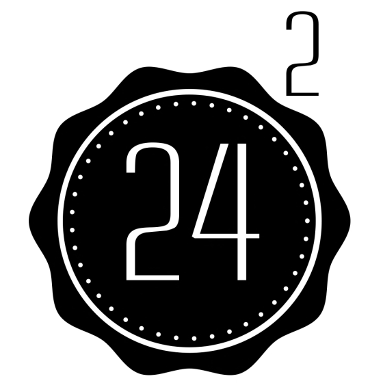 The 24 Squared Logo