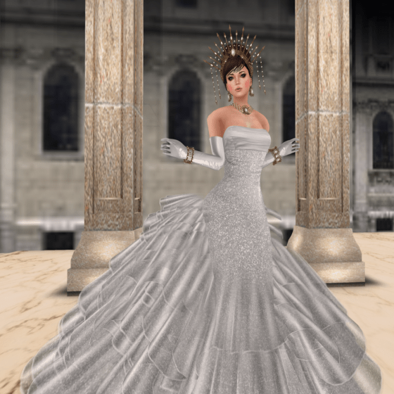 Irena wedding gown, MAAI