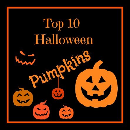 Top 10 Decorated Pumpkins