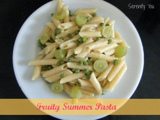 Fruity Summer Pasta