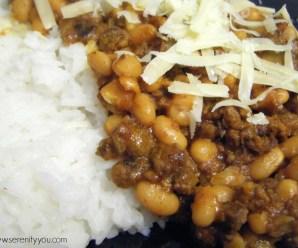 Baked Bean Chilli Recipe