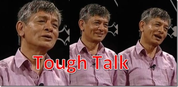 Madan Krishna Shrestha in Tough Talk
