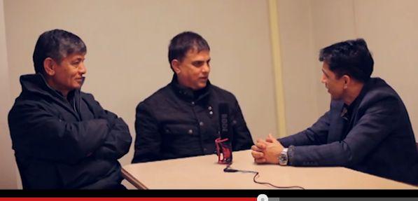 Interview with Madan Krishna Shrestha and Hari Bansha Acharya