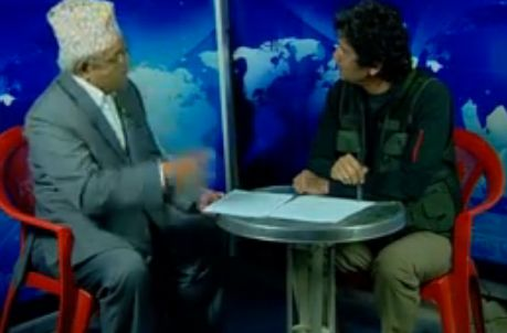 Dil Bhusan Pathak interviews Deputy PM & Home Minister Bamdev Gautam