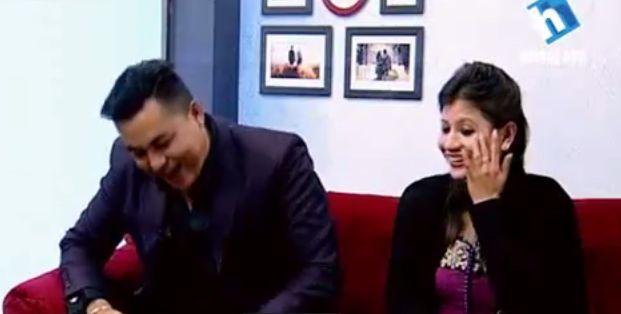 Jeevan Sathi, Sandip Chhetri and his wife, host Narayan Puri