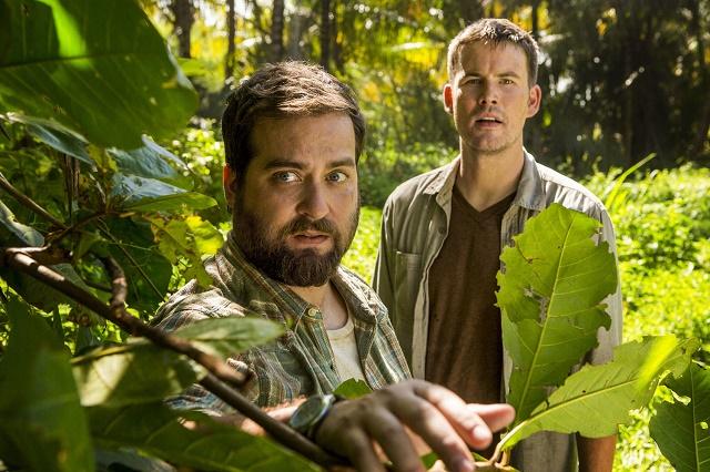 Brian Sacca (Danny) e Zach Cregger (Owen) em Wrecked