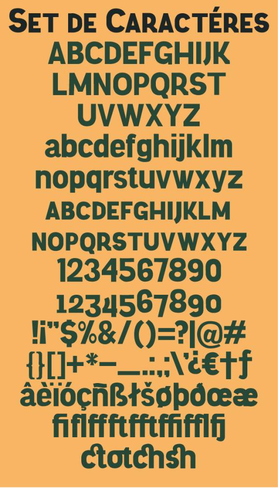 Tipografía grátis: Knema (2/2)