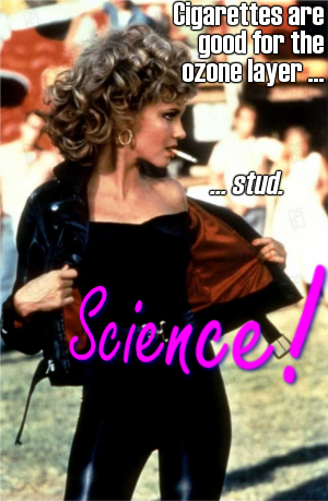 Go, grease science! Go go, grease science!