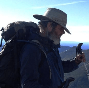 Hikers provide the fiber mating bears and wolves don't often get through their native diet thanks to beards, fedoras, backpacks and walking sticks.