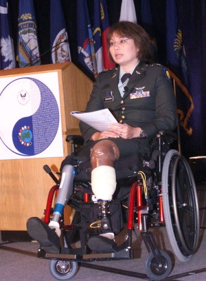 """""""You mean to say you didn't have a penis while losing your legs in Iraq? We're sorry, Rep. Duckworth, but the Adventurers Club finds you insufficiently adventurous."""""""