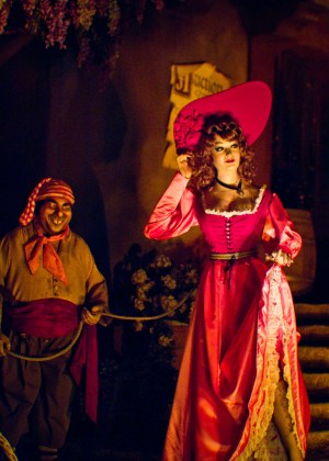 There are at least two reasons why the pirates of the Caribbean wanted the redhead so badly.