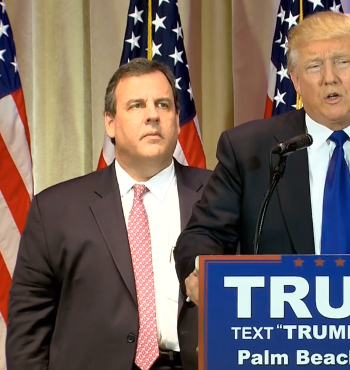 Chris Christie should not have dropped acid before going on stage.