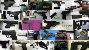 TSA seized almost as many guns as nail clippers last week.