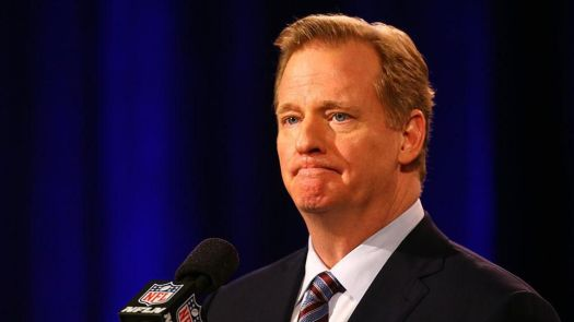 Next up: Goodell to spend entire fortune researching how to weaponize rubber and glue against boo-ers.