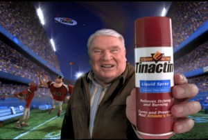 There's more spiritual fulfillment -- and less foot burning -- if you follow the life advice of John Madden.