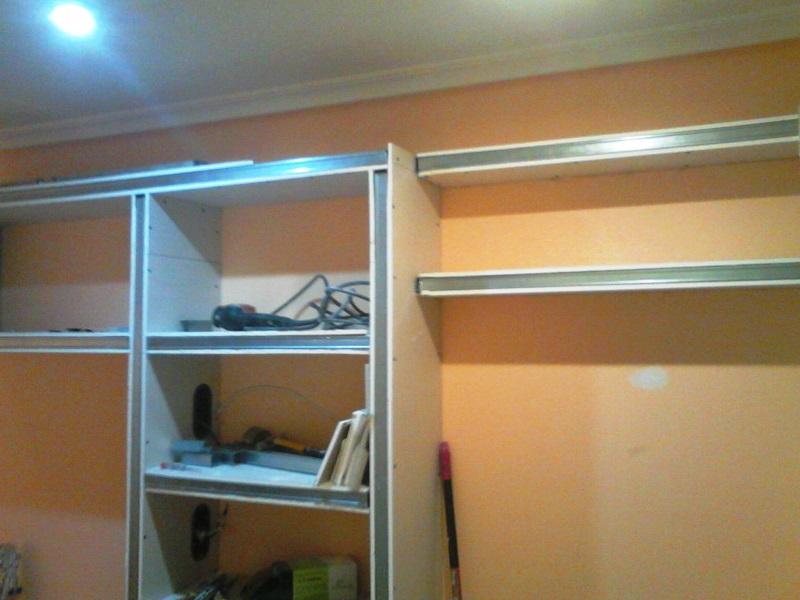 Montaje de mueble de pladur reformas y decoraci n de - Mueble de pladur ...