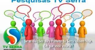 Em quem voce votaria para Prefeito da Serra hoje?